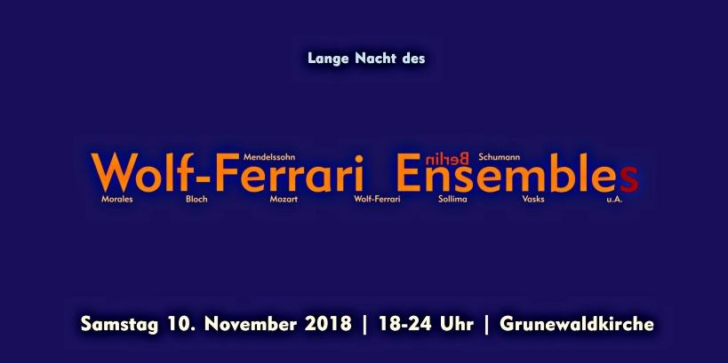 Flyer Lange Nacht 20 Jahre WFE