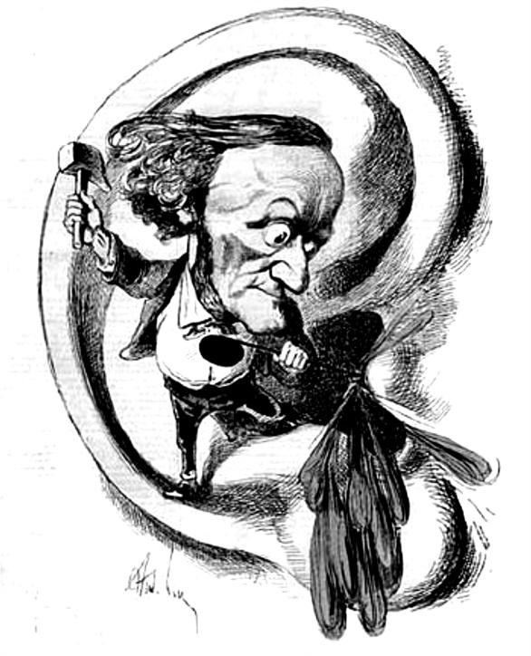 Wagner Karikatur