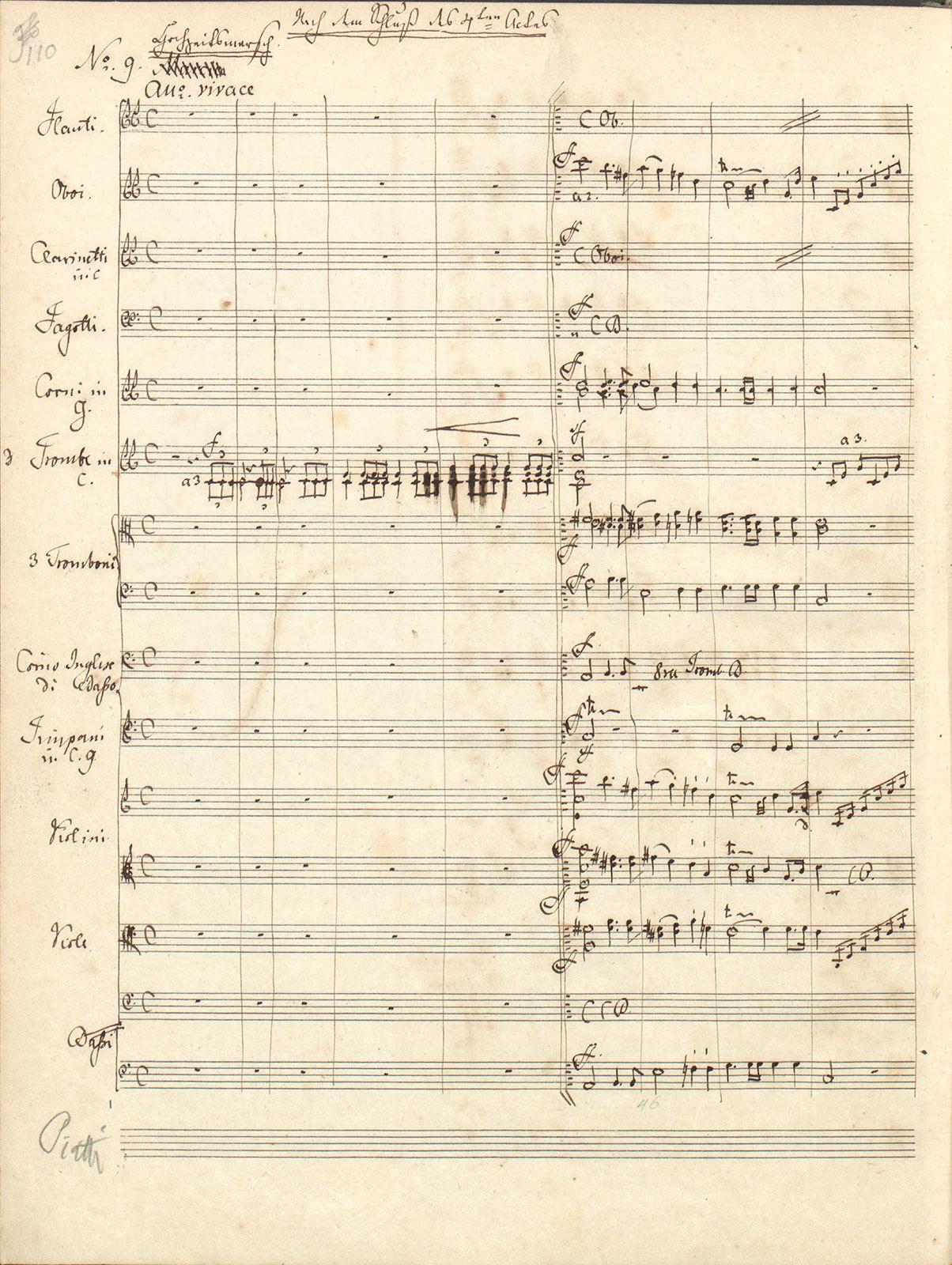 Mendelssohn Hochzeitsmarsch Autograph