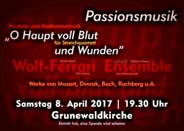 Passionsmusik 17 Grunewald